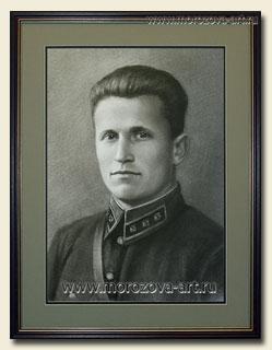 Портрет по фото времён великой